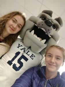Denner und Kollegin an Yale