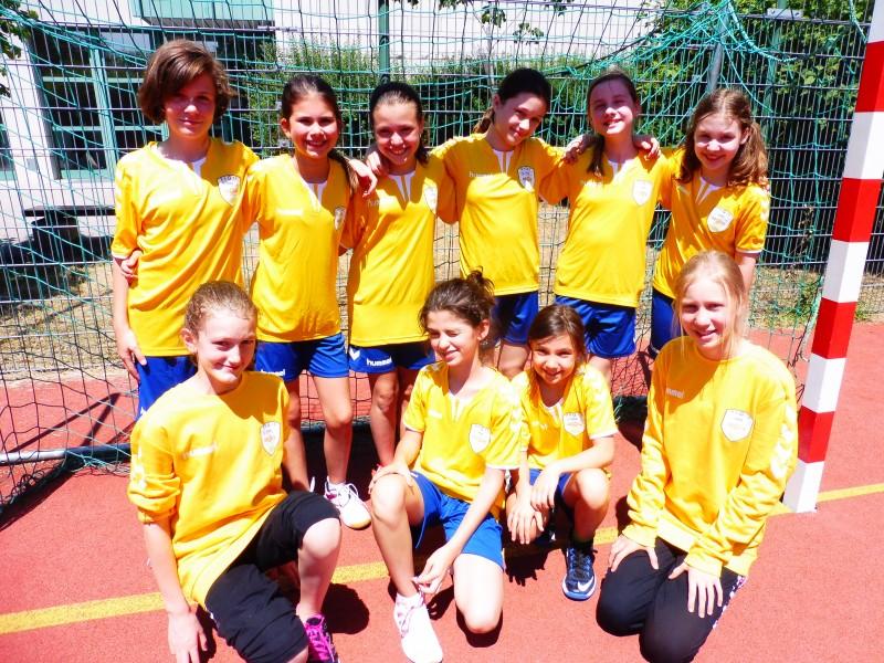 mini-handball turnier mädchen